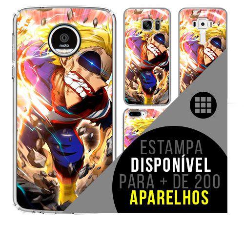 Capa de celular boku-no-hero - All-Might 37 [disponível para + de 200 aparelhos]