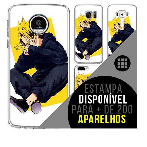 Capa de celular boku-no-hero - Denki-Kaminari 42 [disponível para + de 200 aparelhos]