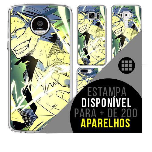 Capa de celular boku-no-hero - Denki-Kaminari 43 [disponível para + de 200 aparelhos]