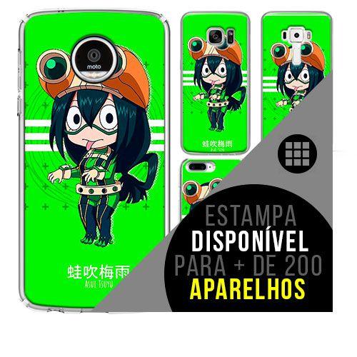 Capa de celular boku-no-hero - Tsuyu-Asui 57 [disponível para + de 200 aparelhos] ]