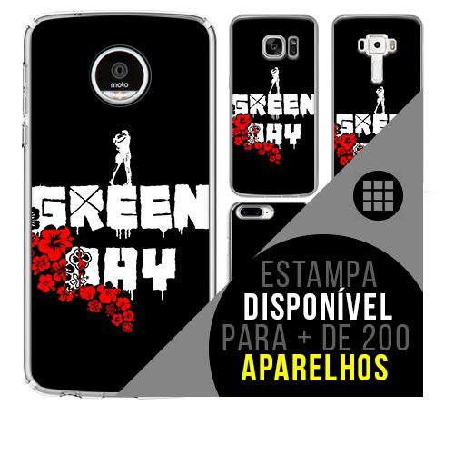 Capa de celular - GREEN DAY 4 [disponível para + de 200 aparelhos]