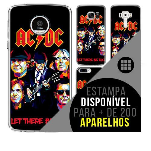 Capa de celular - ACDC 2 [disponível para + de 200 aparelhos]