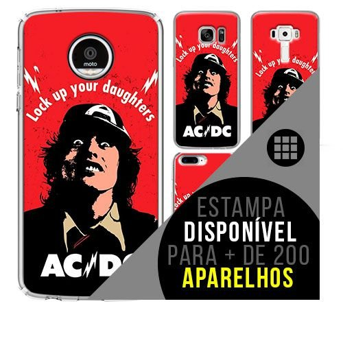 Capa de celular - ACDC 3 [disponível para + de 200 aparelhos]