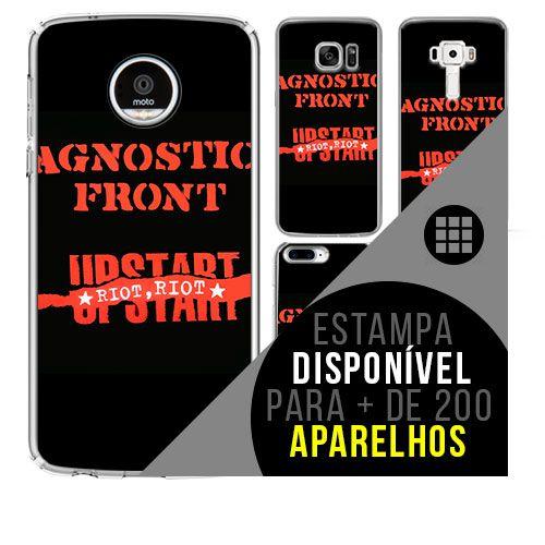 Capa de celular - AGNOSTIC FRONT 2 [disponível para + de 200 aparelhos]