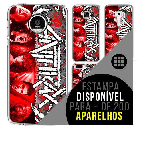 Capa de celular - ANTHRAX 3 [disponível para + de 200 aparelhos]