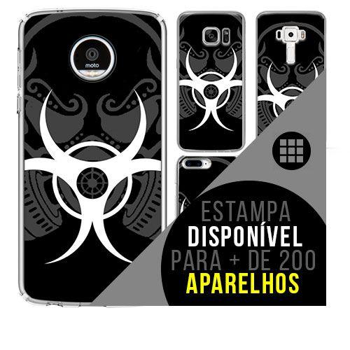 Capa de celular - BIOHAZARD [disponível para + de 200 aparelhos]
