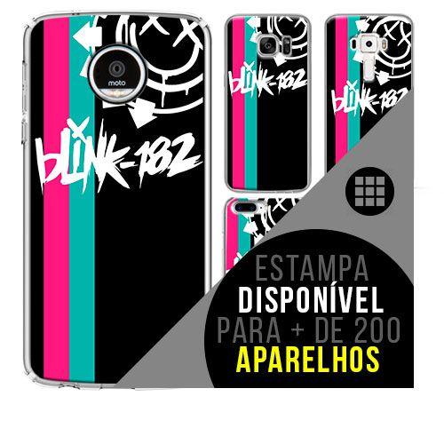 Capa de celular - BLINK 182 - 6 [disponível para + de 200 aparelhos]