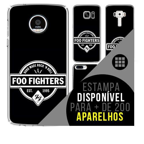 Capa de celular - FOO FIGHTERS 4 [disponível para + de 200 aparelhos]
