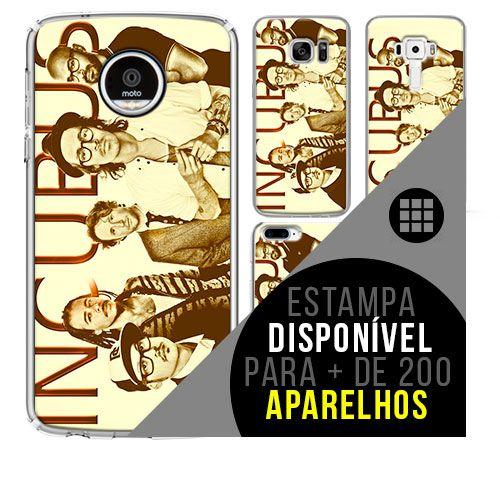 Capa de celular - INCUBUS [disponível para + de 200 aparelhos]