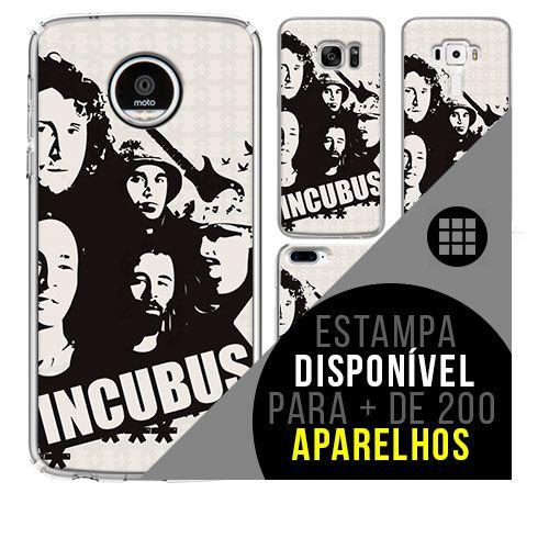 Capa de celular - INCUBUS 5 [disponível para + de 200 aparelhos]