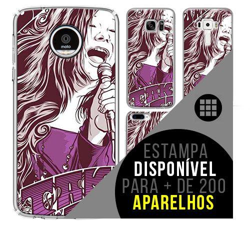 Capa de celular - JANIS JOPLIN [disponível para + de 200 aparelhos]