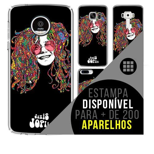 Capa de celular - JANIS JOPLIN 6 [disponível para + de 200 aparelhos]