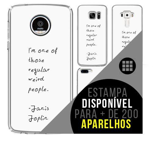 Capa de celular - JANIS JOPLIN 7 [disponível para + de 200 aparelhos]