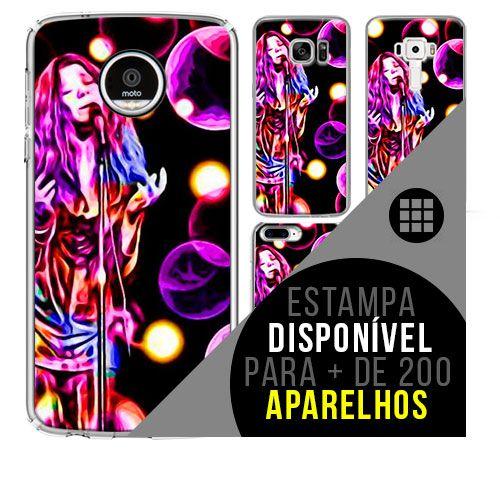Capa de celular - JANIS JOPLIN 15 [disponível para + de 200 aparelhos]