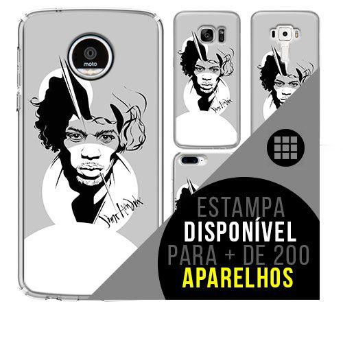 Capa de celular - JIMI HENDRIX 3 [disponível para + de 200 aparelhos]