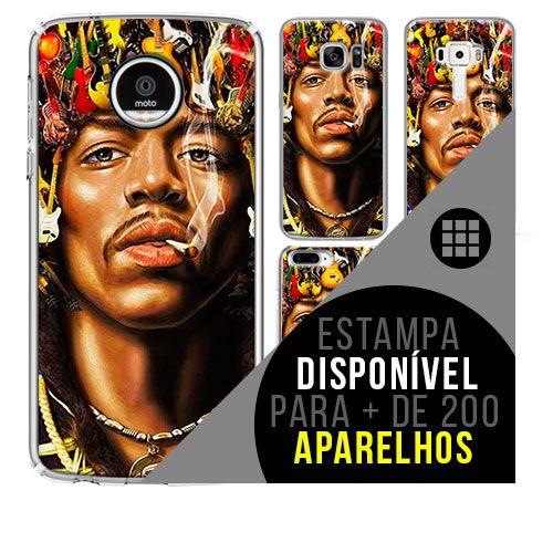 Capa de celular - JIMI HENDRIX 2 [disponível para + de 200 aparelhos]