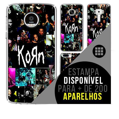Capa de celular - KORN [disponível para + de 200 aparelhos]