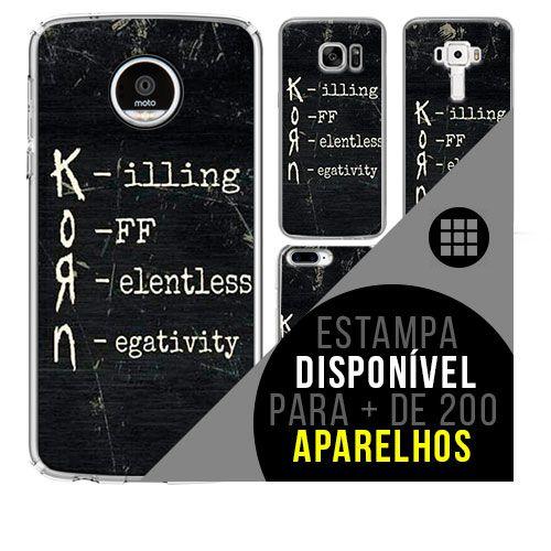 Capa de celular - KORN 8 [disponível para + de 200 aparelhos]