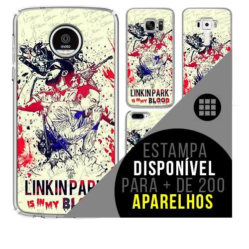 Capa de celular - LINKIN PARK 4 [disponível para + de 200 aparelhos]