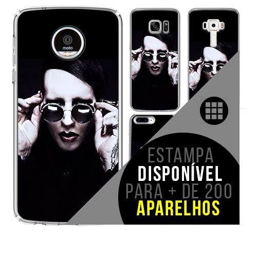 Capa de celular - MARILYN MANSON 8 [disponível para + de 200 aparelhos]