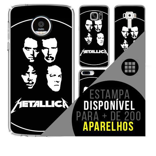 Capa de celular - METALLICA 3 [disponível para + de 200 aparelhos]