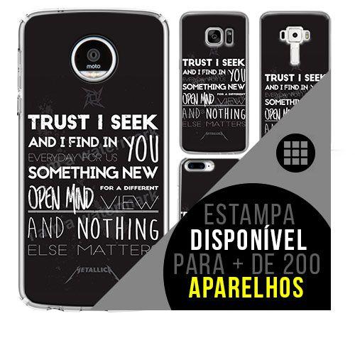 Capa de celular - METALLICA 8 [disponível para + de 200 aparelhos]