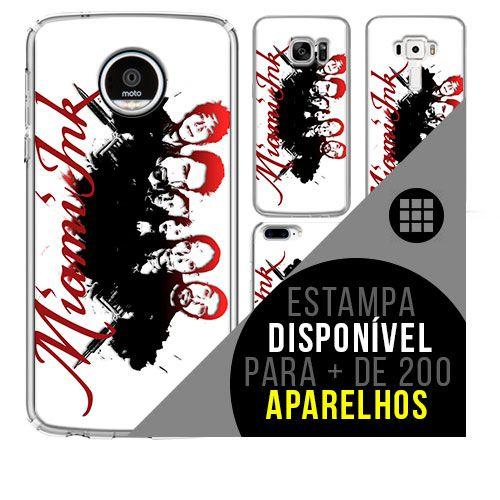 Capa de celular - MIAMI INK 2 [disponível para + de 200 aparelhos]