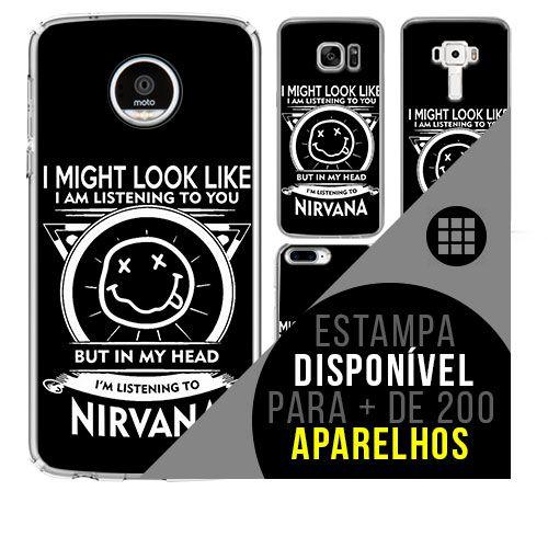 Capa de celular - NIRVANA 2 [disponível para + de 200 aparelhos]
