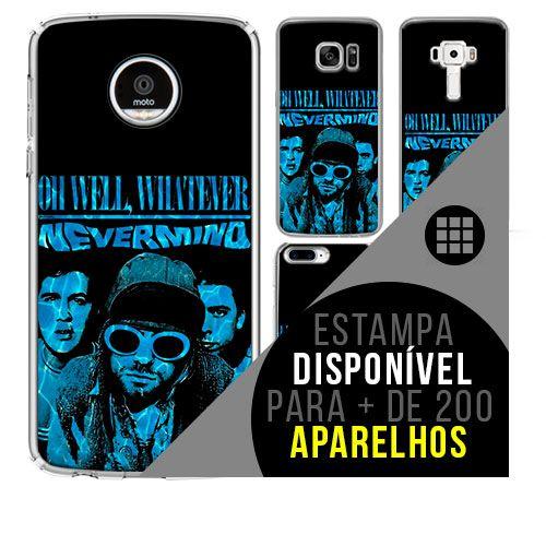Capa de celular - NIRVANA 3 [disponível para + de 200 aparelhos]