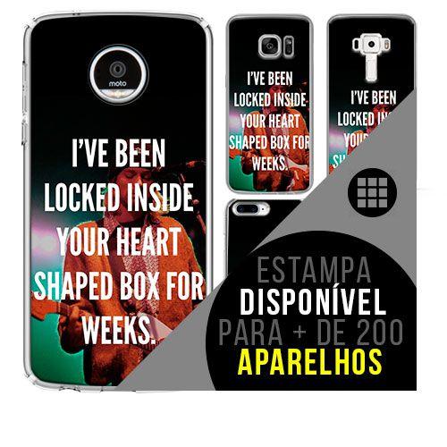 Capa de celular - NIRVANA 4 [disponível para + de 200 aparelhos]