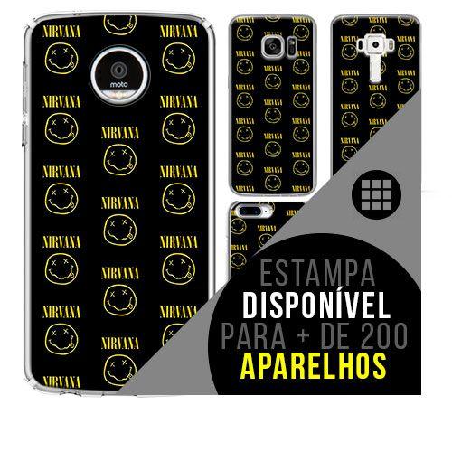 Capa de celular - NIRVANA 8 [disponível para + de 200 aparelhos]