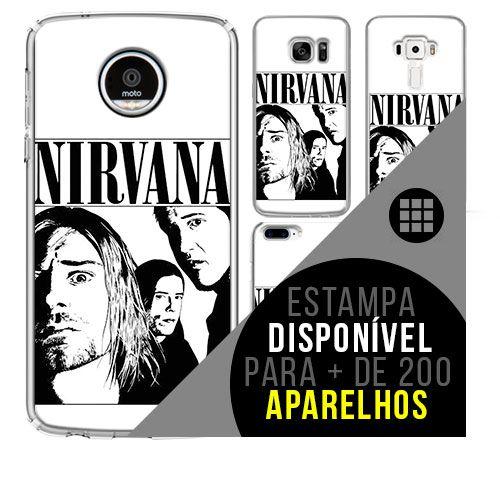 Capa de celular - NIRVANA 10 [disponível para + de 200 aparelhos]