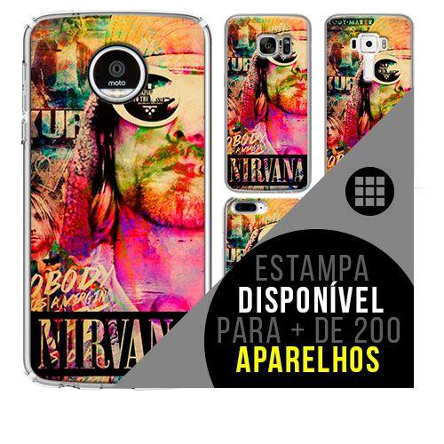 Capa de celular - NIRVANA 12 [disponível para + de 200 aparelhos]