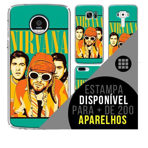 Capa de celular - NIRVANA 16 [disponível para + de 200 aparelhos]