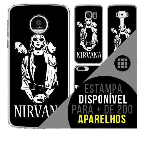 Capa de celular - NIRVANA 17 [disponível para + de 200 aparelhos]