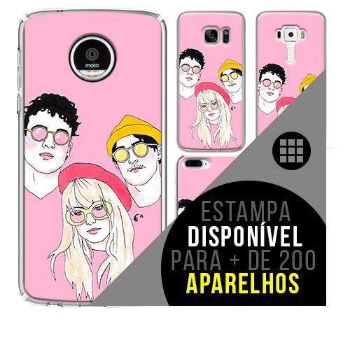 Capa de celular - PARAMORE 5 [disponível para + de 200 aparelhos]