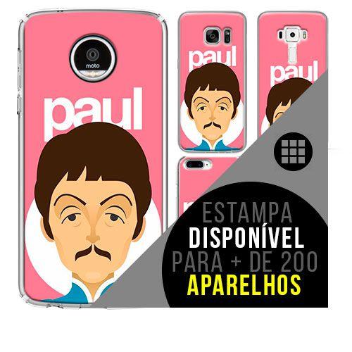 Capa de celular - PAUL MCCARTNEY [disponível para + de 200 aparelhos]