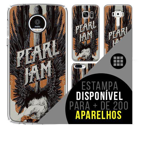 Capa de celular - PEARL JAM 6 [disponível para + de 200 aparelhos]