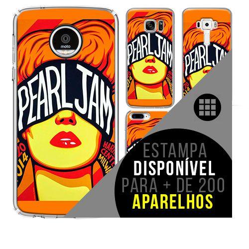 Capa de celular - PEARL JAM 7 [disponível para + de 200 aparelhos]