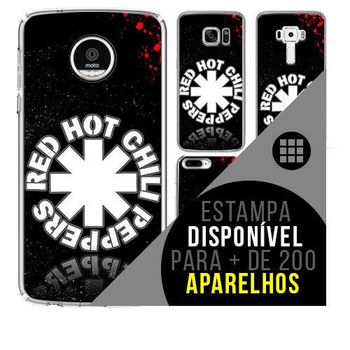Capa de celular - RED HOT CHILLI PEPPERS 6 [disponível para + de 200 aparelhos]