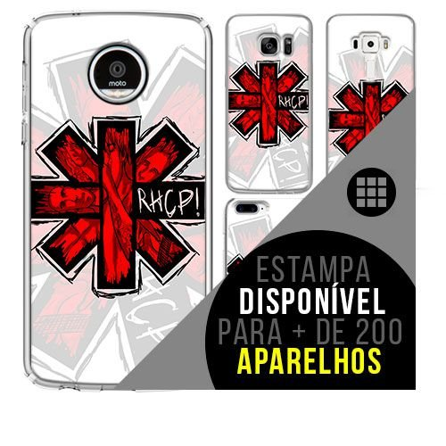 Capa de celular - RED HOT CHILLI PEPPERS 5 [disponível para + de 200 aparelhos]