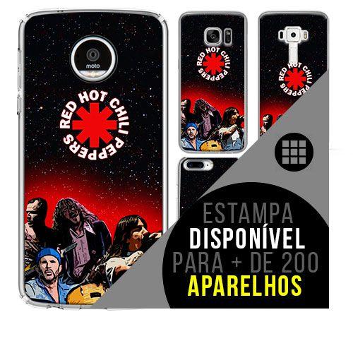Capa de celular - RED HOT CHILLI PEPPERS 4 [disponível para + de 200 aparelhos]