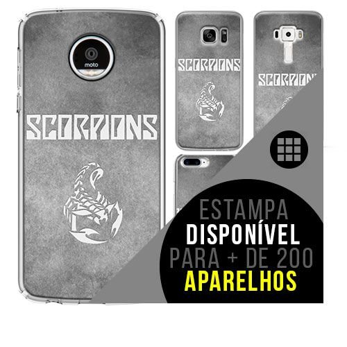Capa de celular - SCORPIONS 3 [disponível para + de 200 aparelhos]