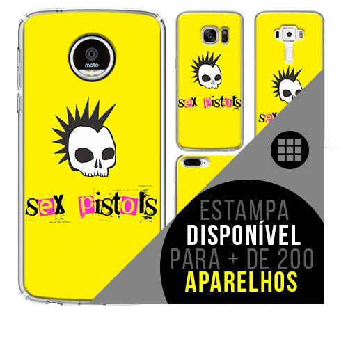 Capa de celular - SEX PISTOLS 2 [disponível para + de 200 aparelhos]