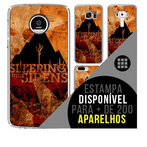 Capa de celular - SLEEPING WITH SIRENS 3 [disponível para + de 200 aparelhos]