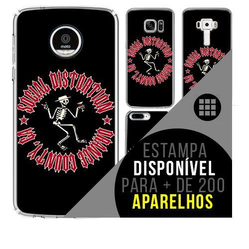Capa de celular - SOCIAL DISTORTION 2 [disponível para + de 200 aparelhos]