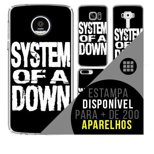 Capa de celular - SYSTEM OF A DOWN 2 [disponível para + de 200 aparelhos]