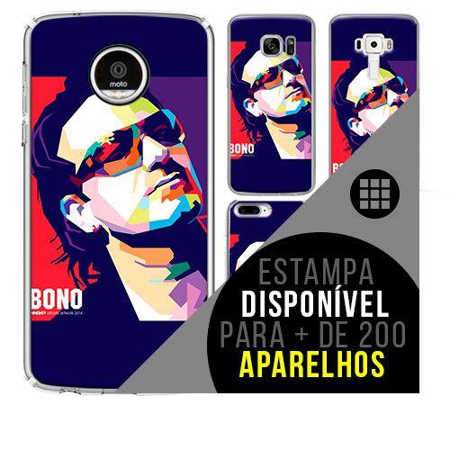 Capa de celular - U2 -3  [disponível para + de 200 aparelhos]