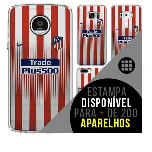 Capa de celular - Atlético de Madrid [disponível para + de 200 aparelhos]