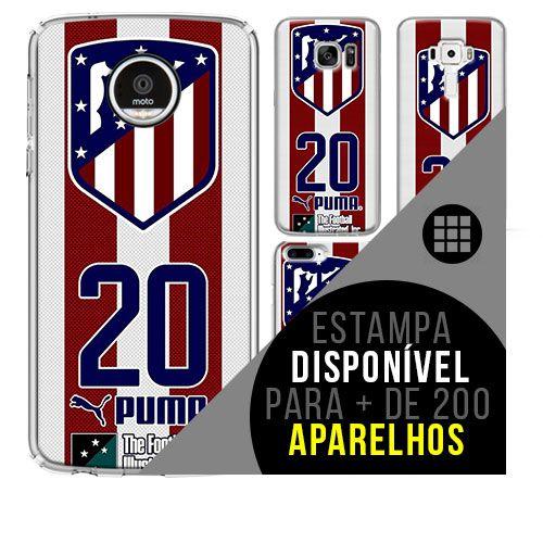 Capa de celular - Atlético de Madrid 3 [disponível para + de 200 aparelhos]